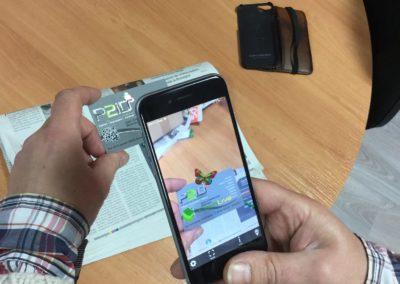 p2id flahlive projet réalité augmentée