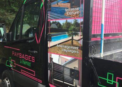 p2id habillage camion paysages a themes côté