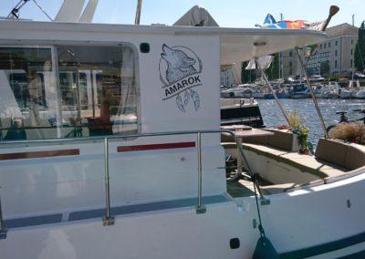 p2id habillage stickers AMAROK location bateau